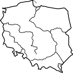 Znalezione obrazy dla zapytania mapa polski
