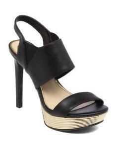 Trevor Infant Black Round Toe Dress Shoe Lace Up