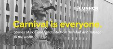UNHCR: Moko Jumbie band Moko Somokow celebrates difference in Carnival Carnival Date, Port Of Spain, Trinidad And Tobago, Savannah Chat, Band, Celebrities, Sash, Celebs, Bands