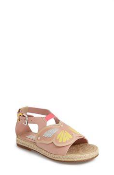 Stella McCartney Kids 'Bop' Butterfly Espadrille Sandal (Toddler, Little Kid & Big Kid) Espadrille Sandals, Espadrilles, Kids Bop, Girls Shoes, Baby Shoes, Kids Sandals, All About Shoes, Stella Mccartney Kids, Kid Styles