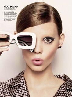 Ondria Hardin by Jason Kibbler for Teen Vogue September 2013
