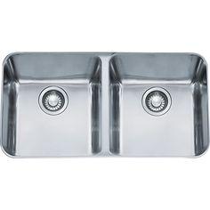 Franke Largo Undermount Steel LAX12034 Stainless Steel (Silver) Kitchen Sink (Stainless Steel)