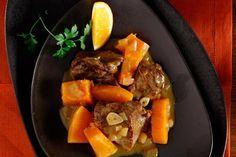 Μοσχαράκι με κολοκύθα, κονιάκ και πορτοκάλι στην κατσαρόλα - Συνταγές | γαστρονόμος