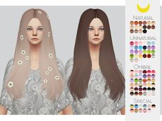 Kalewa-a's Hair Retexture 45 - LeahLillith�s Sachi
