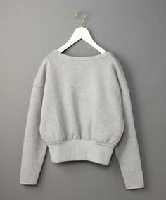 <6(ROKU)>BACK CACHECOEUR SWEAT PULLOVER/スウェット