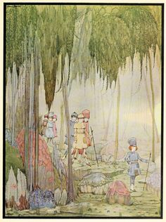 In 1922, Harrap published The Fairy Tales of Perrault with pictures by Ireland's Illustration God Harry Clarke (1889–1931).
