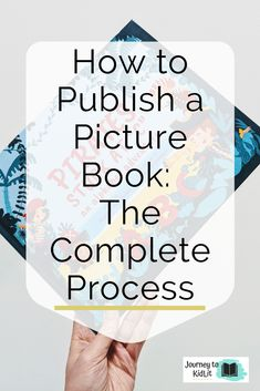 Have an idea for picture book that's ready for publishing? Here's the complete breakdown for how to publish a picture book when you're ready! Writing Kids Books, Book Writing Tips, Start Writing, Writing Ideas, Create Your Own Book, Children's Picture Books, Pics Of Books, Writing Motivation, Writer Tips