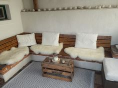 c-line: hello cozy winter Cozy Winter, Farmhouse, Couch, Garden, Furniture, Home Decor, Homemade Home Decor, Sofa, Rural House