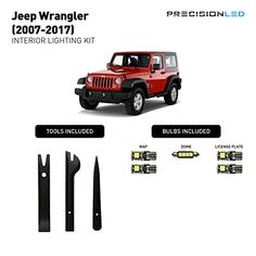 Precision Premium LED Jeep Wrangler Accessories JK LED In...