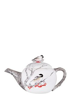 Winter Chick Teapot - Multi by Home Essentials and Beyond on @HauteLook