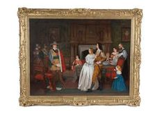 Lot-419 Irish Traditions, Global Art, Art Market, Oil On Canvas, Past, Auction, Masters, Artist, Painting