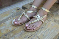 Bridal Sandals Margarita-CrystalsGreek | Etsy Golden Sandals, Pearl Sandals, Beige Sandals, Bridal Sandals, Boho Sandals, Strap Sandals, Leather Sandals, Beautiful Sandals, Leather Conditioner