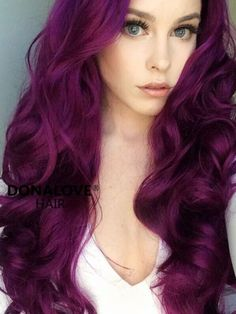 Women Pink Wigs Lace Front Hair Baby Pink Hair With Dark Roots Pastel Pink And Blue Hair Pastel Pink Mens Hair – cressral Cute Hair Colors, Hair Color Purple, Fall Hair Colors, Hair Dye Colors, Cool Hair Color, Dark Purple, Long Purple Hair, Violet Hair Colors, Purple Wig