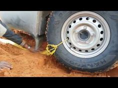 DIY winch For self Rescure - YouTube