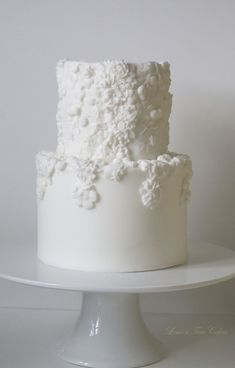 Two tier bas relief cake.