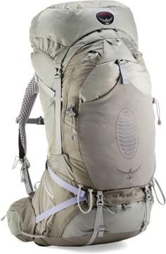 Enhance your mobility and comfort while toting heavier loads through the backcountry with this Osprey pack.