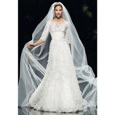 Brides: Elie Saab - Spring 2013 | Bridal Runway Shows | Wedding Dresses and Style | Brides.com