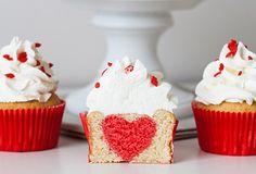 Cupcake surprise saint valentin