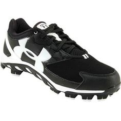 Under Armour Spine Glyde TPU Cc FP Softball Cleats - Womens Black White