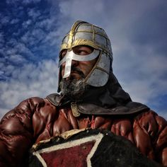 """Photo by @dguttenfelder At the Viking and Slav festival on the island-town of Wolin, Poland, a man dressed for battle prepares to wage war. During the three day festival, participants reenact Viking and Slavic battles and culture from the Middle Ages. For more photos and behind the scenes videos, please take a look at our new Instagram """"stories"""" feature by tapping on our circular profile logo or follow National Geographic photographer @dguttenfelder  via ✨ @padgram ✨(http://dl.padgram.com)"""