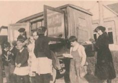 Parnassus, the Noblesville (Ind.) Public Library bookmobile, 1920s.