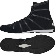 Buy Adidas AdiZero Black Boxing Boots from UK Supplier Fight Co 6c6b9bc36