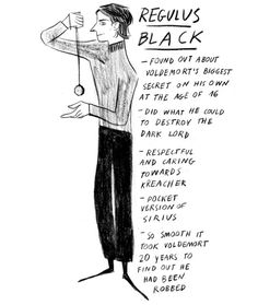 Underappreciated Harry Potter characters: Regulus Black
