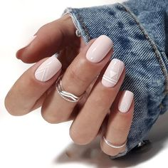 Top 55 Easy Nail Designs For Short Nails These trendy Nails ideas would gain you amazing compliments. Check out our gallery for more ideas these are trendy this year. Square Nail Designs, Short Nail Designs, Simple Nail Designs, Nail Art Designs, Nails Design, Design Design, Design Ideas, Cute Acrylic Nails, Glitter Nail Art