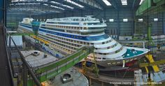 AIDAstella - January 11th, 2013 - AIDA stella 002 - Cruise Ships from Papenburg / Germany photo by Andreas Depping