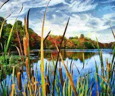 Celito Medeiros, Through the Reeds - Hi-End Print on Canvas