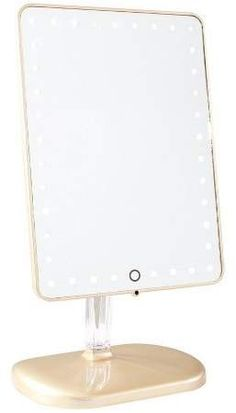 Impressions Vanity Touch Pro LED Makeup Mirror with Bluetooth Audio+Speakerphone & USB Charge