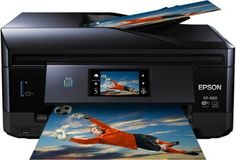Impressoras Epson Expression Photo XP-860 Wireless Color Photo Printer with Scanner and Copier #Impressoras #Epson