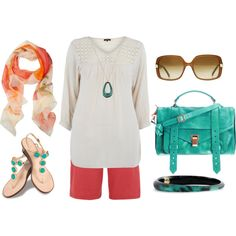 Plus Size Fashion, created by aracely26 on Polyvore