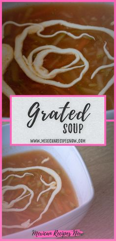 Delicious and healthy soup made with carrot, potatoes and pumpkin It is not a common soup but it will delight your palate. Vegetable Soup Healthy, Healthy Soup, Authentic Mexican Soups, Mexican Soup Recipes, Carrot Cream, Creamed Potatoes, Sour Cream, Carrots, Pumpkin