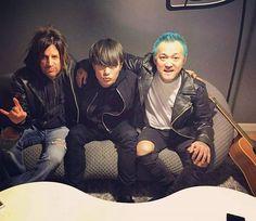 with Toru(One Ok Rock) & Steve(Danger Danger) in New York! @oneokrockofficial @toru_10969 @therealstevewest #homies #newyork #tokyo #oneokrock #dangerdanger #ワンオク #ワンオクロック #東京 #ニューヨーク