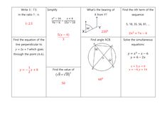 GCSE Non Calculator Revision Mats: Higher and Foundation Gcse Revision, Student Work, Grade 1, Calculator, Mathematics, Read More, Teaching Resources, Foundation, Writing