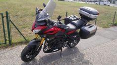 Mein Bike in der Endkonfiguration (?), upps - da fehlten noch die roten, kurzen VTEC- Kupplungs & Bremshebel (noch kein Bild gemacht)