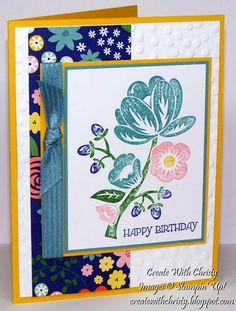 Stampin' Up! Hey There Buds and Gifts of Kindness - Christy Fulk, Stampin' Up! Demo - Create With Christy