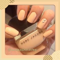Louise by Marc Jacobs #neutralmani  #nailart - Go to bellashoot.com or #beautyapp for beauty inspiration!