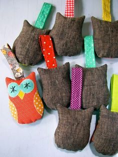 Nifty Kidstuff: Owlie Rattles