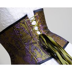 Dragon Skin Corset Larp Clothing Fantasy Costume Steampunk Corset... (120 CAD) ❤ liked on Polyvore featuring intimates, shapewear, black, corsets, lingerie and women's clothing