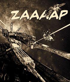 ZAAP-An homage to the comic artists by Yannis Aggelakos, via Behance (full-size crop)