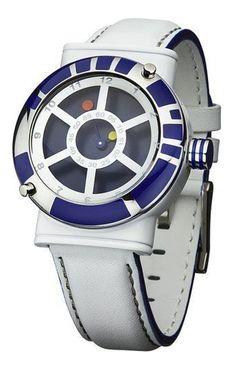 Star Wars R2-D2 Collector's Quartz Analogue Wrist Watch Droid. Star Wars Gift Ideas. Star Wars Lover Gift Ideas. Star Wars Watches For Men. #StarwarsWatch #MenWatch #R2D2Watch