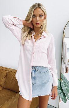 Denim Button Up, Button Up Shirts, Next Dresses, Missy Dresses, Distressed Denim Jeans, Ripped Jeans, Festival Crop Tops, Buy Dresses Online, Green Midi Dress