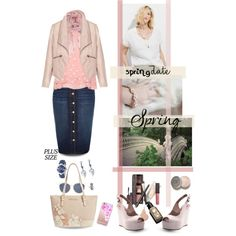 Spring date by hani-bgd on Polyvore featuring мода, MANGO, Manon Baptiste, Zizzi, River Island, Brahmin, Gucci, Jamie Joseph, Humble Chic and Casetify