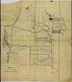 This map shows some of the devastation that was brought to the Native Americans as the United States expanded west. They had their land taken from them and then they were assigned land that they could keep and stay on.