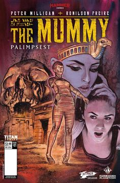 The Mummy #1 Gets New Variant Cover by Graham Humphreys