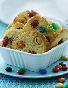 M & M-cookies