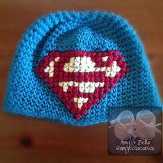 Superman Hat/ Gorro de Superman @amybellababies #amybellababies #crochet #crocheted #crocheting #crocheter #crochetlove #crochetlover #crochetaddict #crochetaddicted #crochetaddiction #crochetart #crochetartist #crochetersofinstagram #embroidery #handmadeembroidery #handmade #handcrafted #handcraft