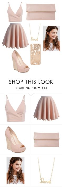 """""""Untitled #13"""" by explorer-145837088710 on Polyvore featuring Chicwish, Jessica Simpson, Whistles, REGALROSE and Sydney Evan"""